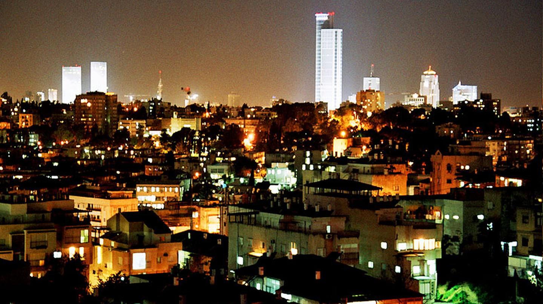 Tel Aviv at Night| Wikipedia