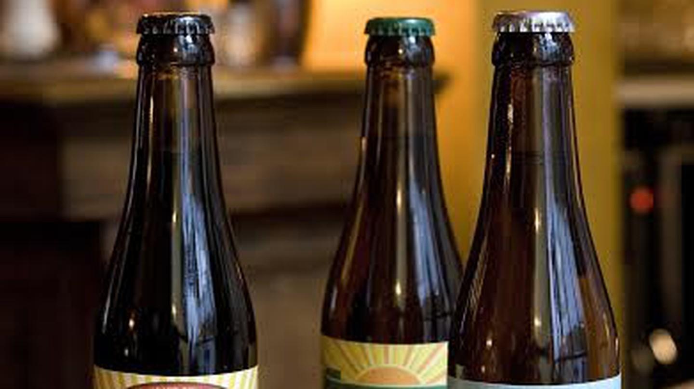 A trio of Brasserie de la Senne beers | © Katherine Longly