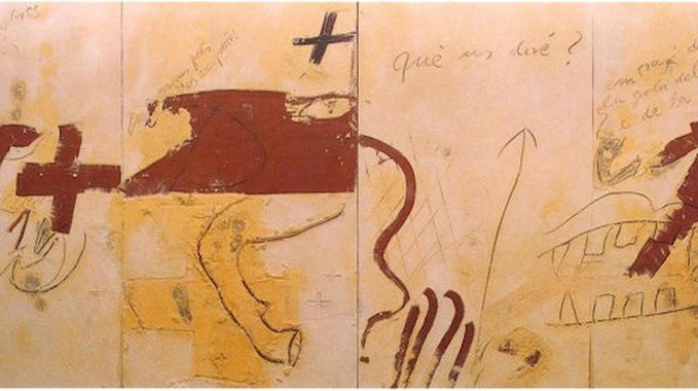 Retracing The Art Of Antoni Tàpies, From Surrealism To Pop Art
