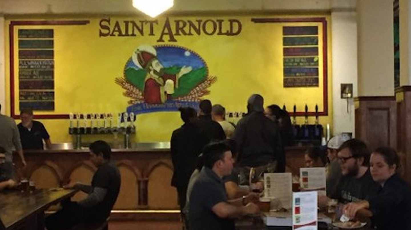 Take A Beer Tour Of Houston's St. Arnold Brewery