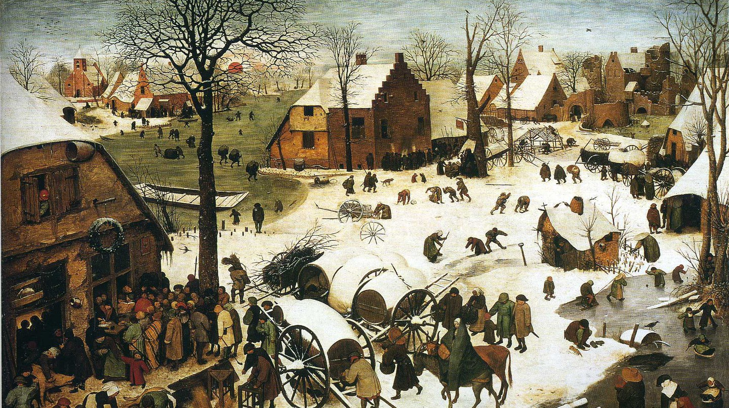Census at Bethlehem, Pieter Bruegel the Elder