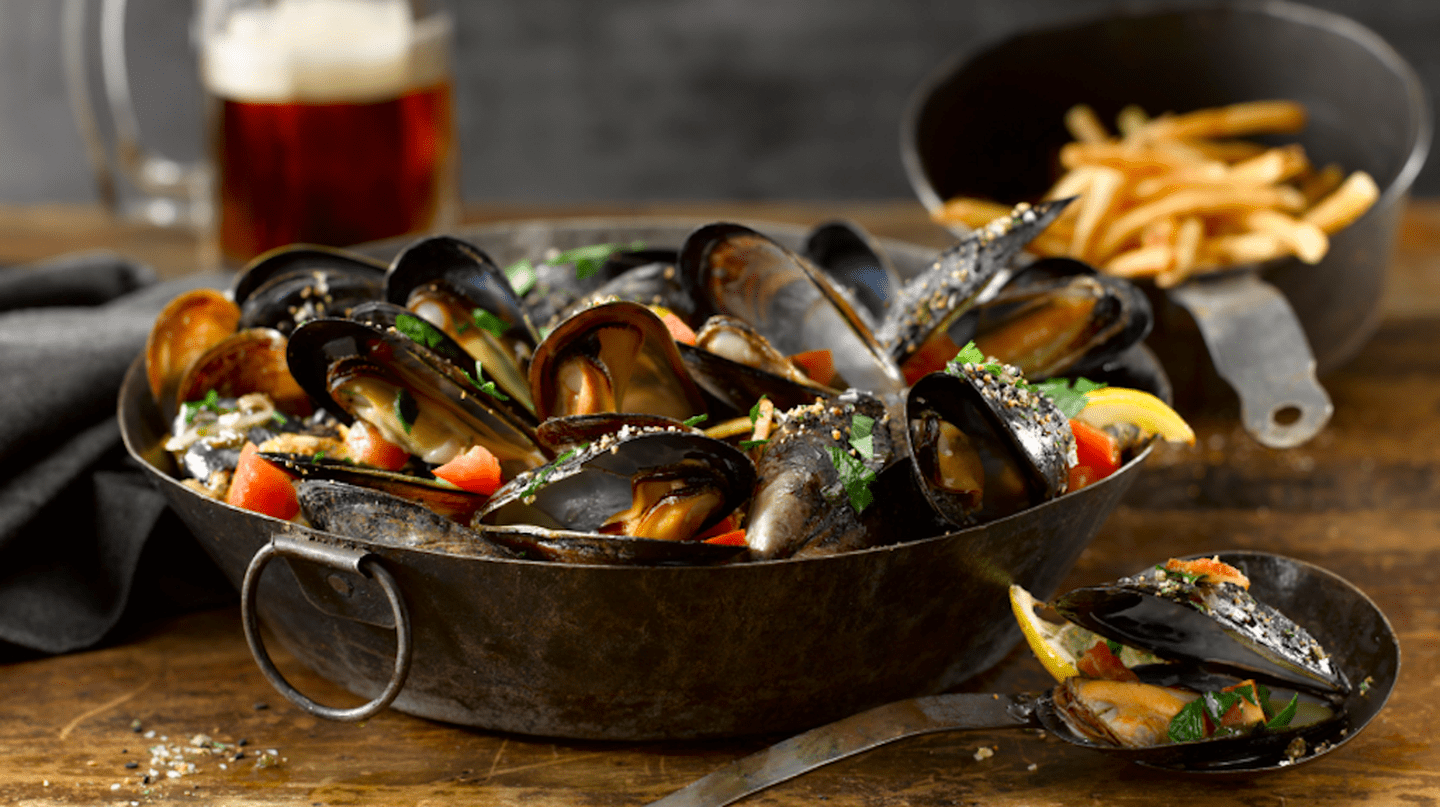 Mussels| Courtesy of  Black Powder Tavern