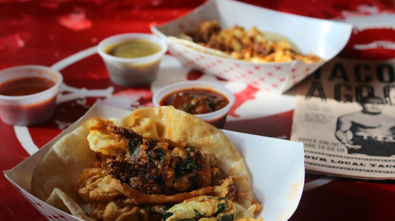 Breakfast tacos at Tacos A Go-Go | © Lauren Pickens