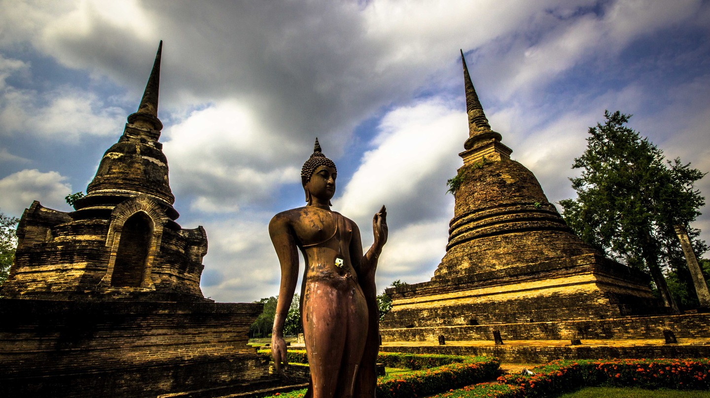 A Visual Journey Through The Historical Ruins Of Sukhothai In Thailand
