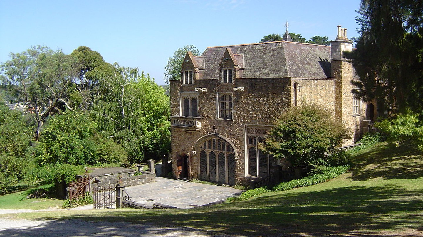 The Great Hall at Montsalvat | ©Nick carson/WikiCommons