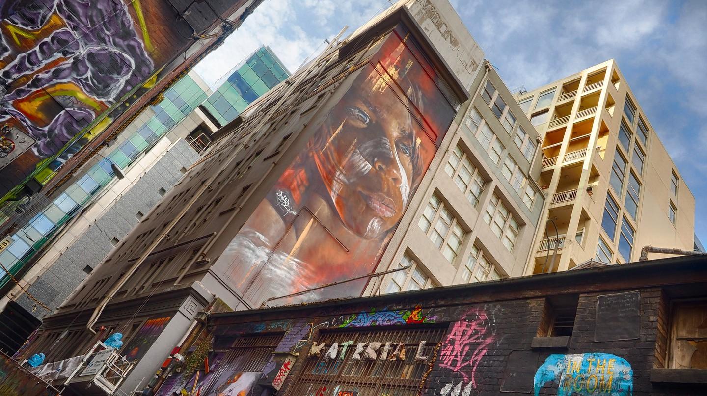 Street Art by Adnate   © Derek Midgely/Flickr