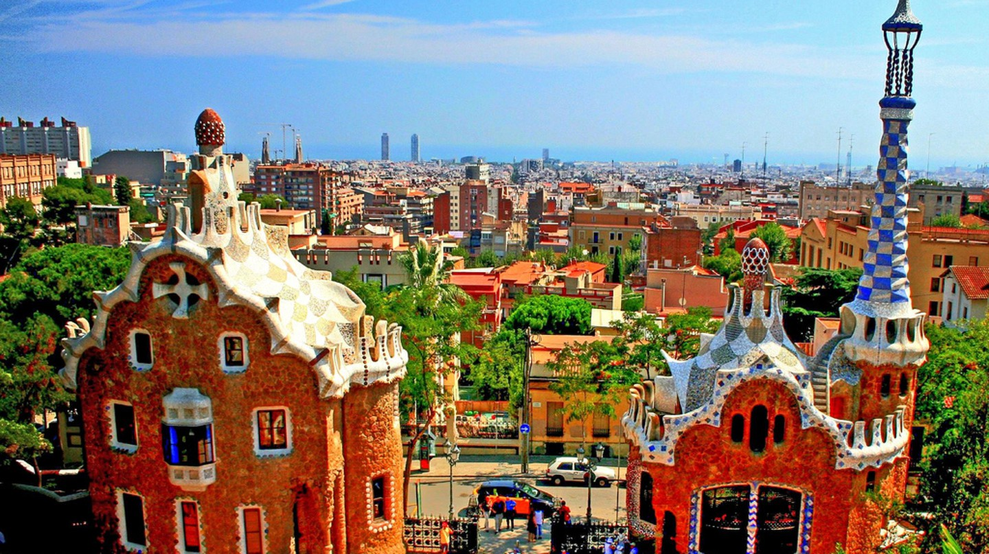 Park Guell in Barcelona | © Andrew E. Larsen/Flickr