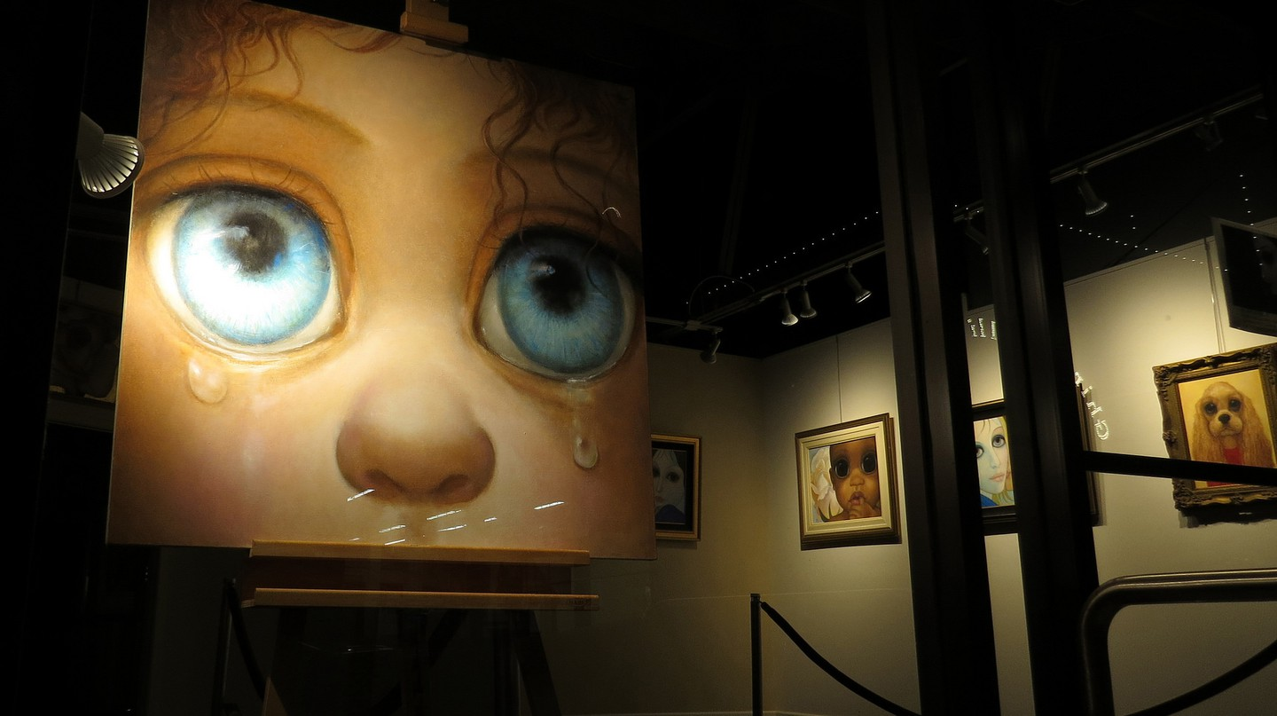 Margaret Keane Paintings And The Story Of Deceit Behind Them