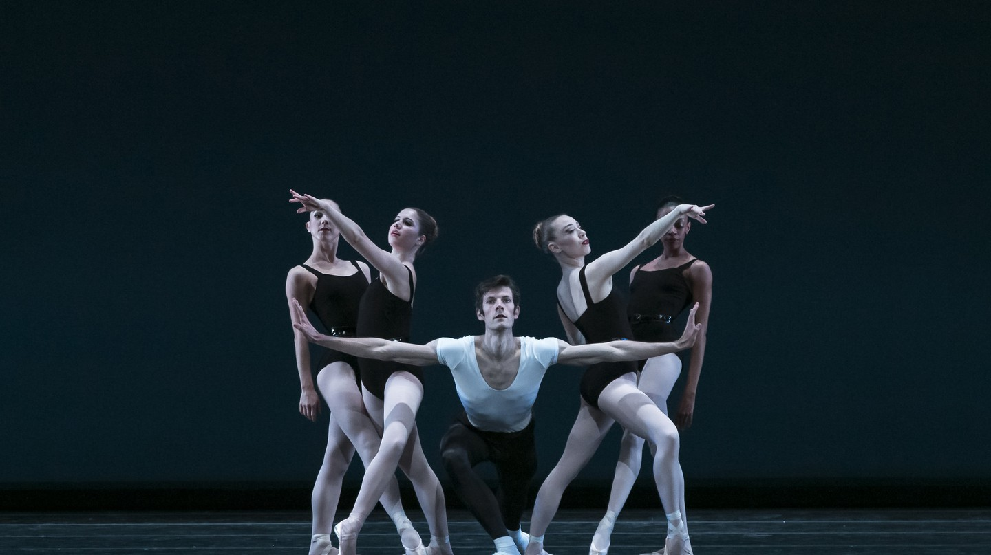 George Balanchine's The Four Temperaments Photography by Steve Wilson | © KCBalletMedia/Flickr