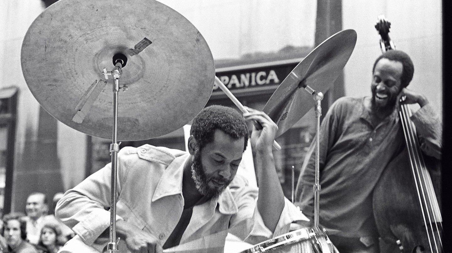 Ben Riley & Percy Heath | © Tom Marcello/Flickr