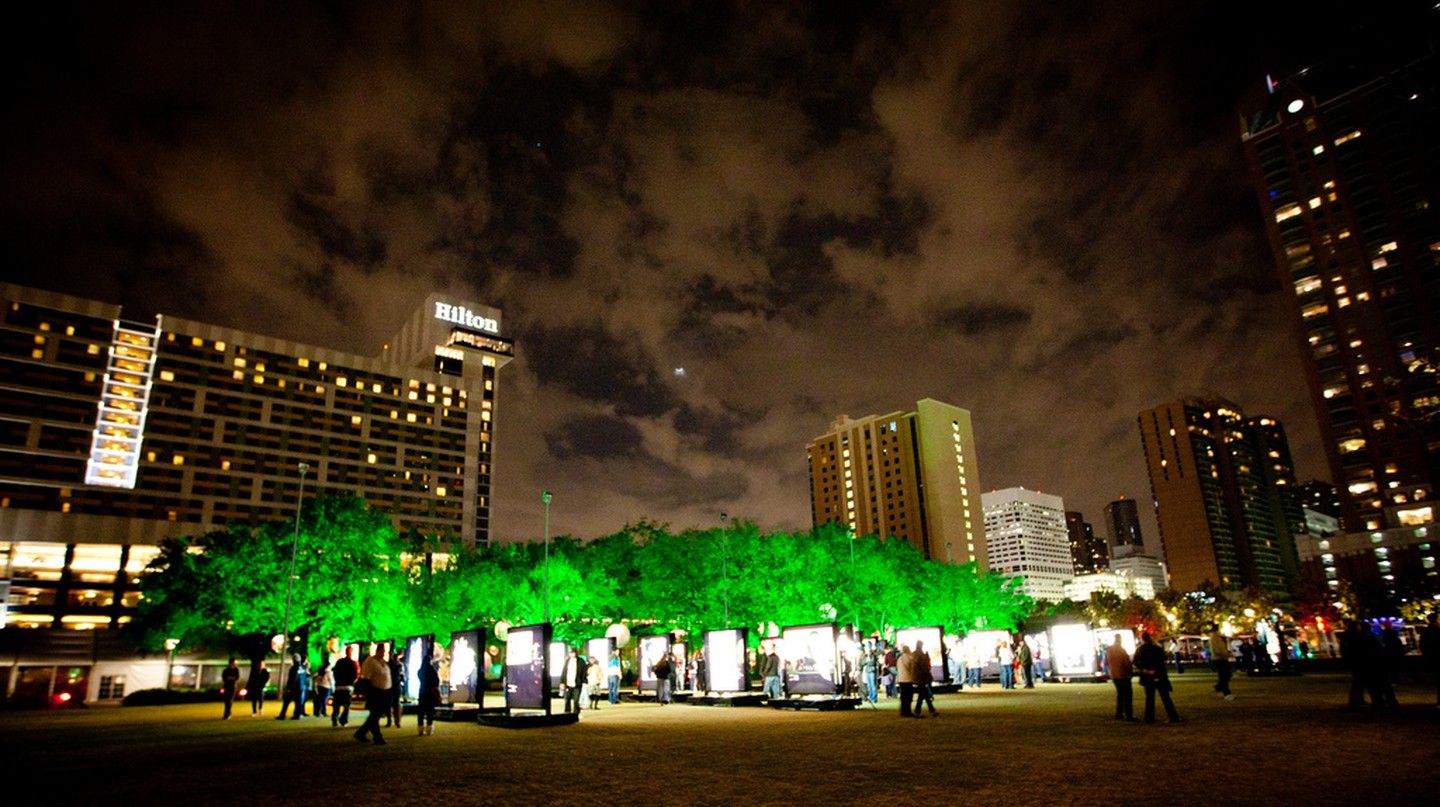 Red Bull Illume at Discovery Green | © Ed Schipul/Flickr