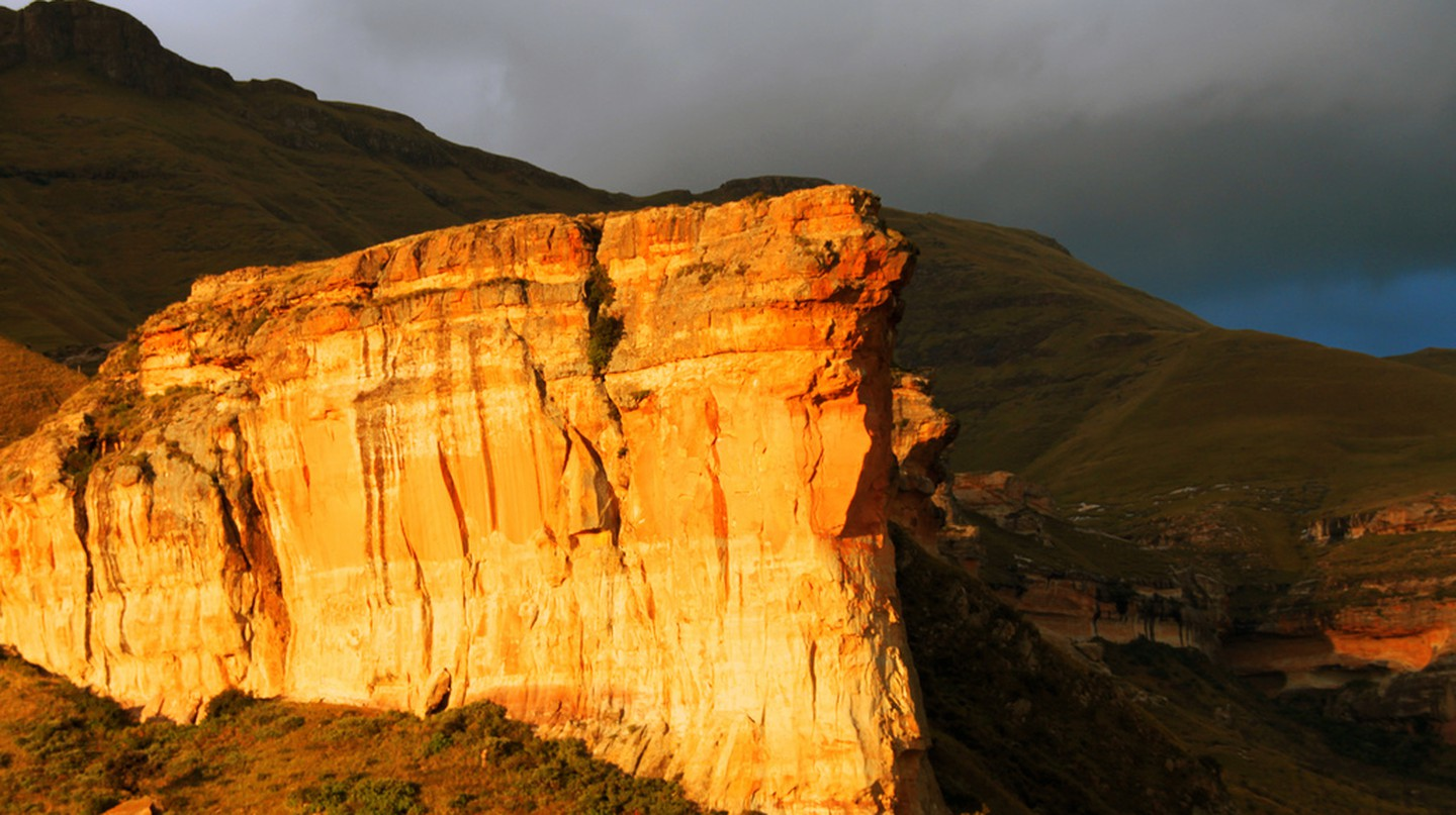 The Brandwag Rock near Clarens | © Martie Swart/Flickr