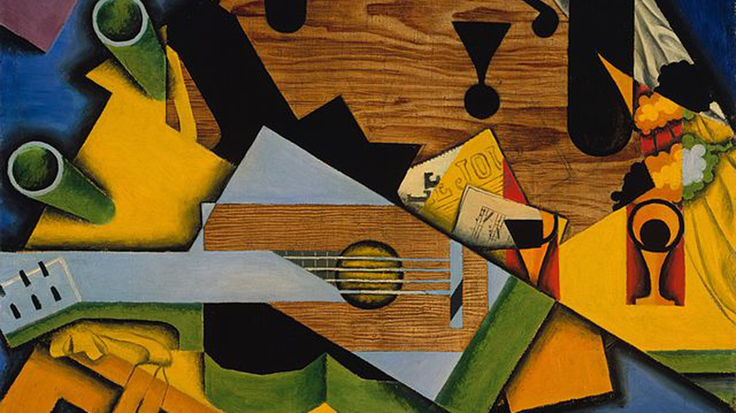 Still Life With a Guitar by Juan Gris | © Jacques and Natasha Gelman Collection, 1998/WikiCommons