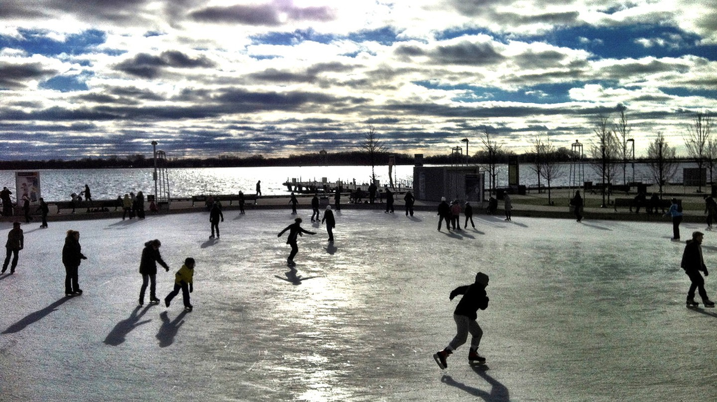 Skating at Harbourfront | © Michael Tutton/Flickr (increased exposure)