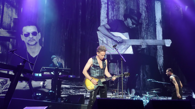Depeche Mode, Warm Up Delta Machine Tour   © Cyril/Flickr