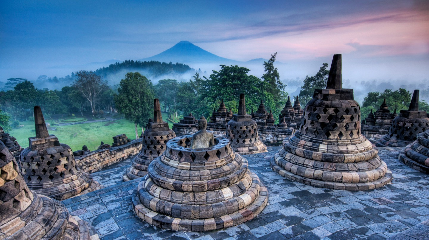 Borobudur Temple © Trey Ratcliff