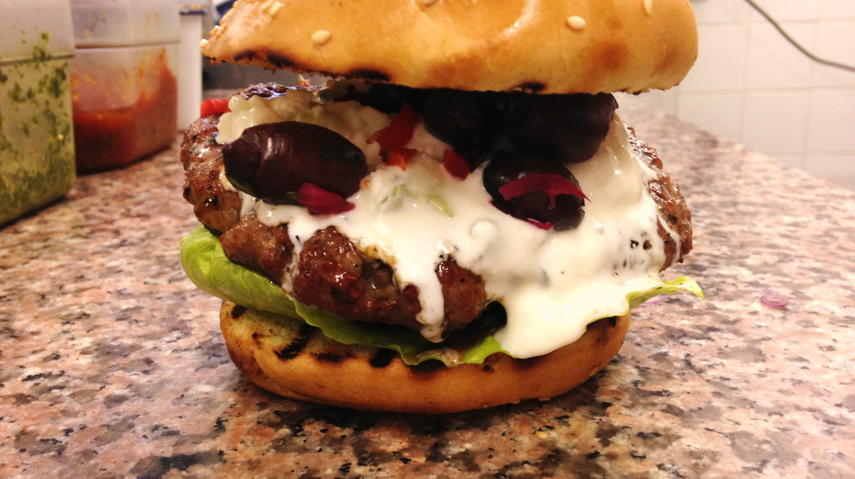 The Real Greek burger | Courtesy Burgerworks