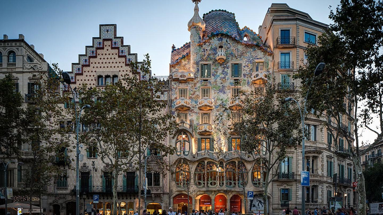 Gaudí's Casa Batlló in Barcelona | © ChristianSchd / WikiCommons