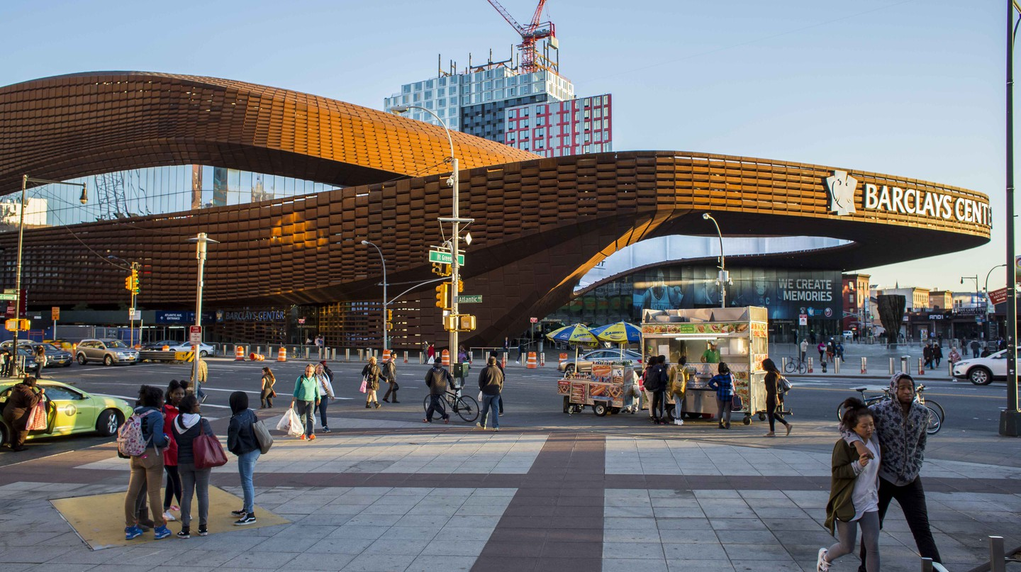 The Barclays Center | © Aron Roth