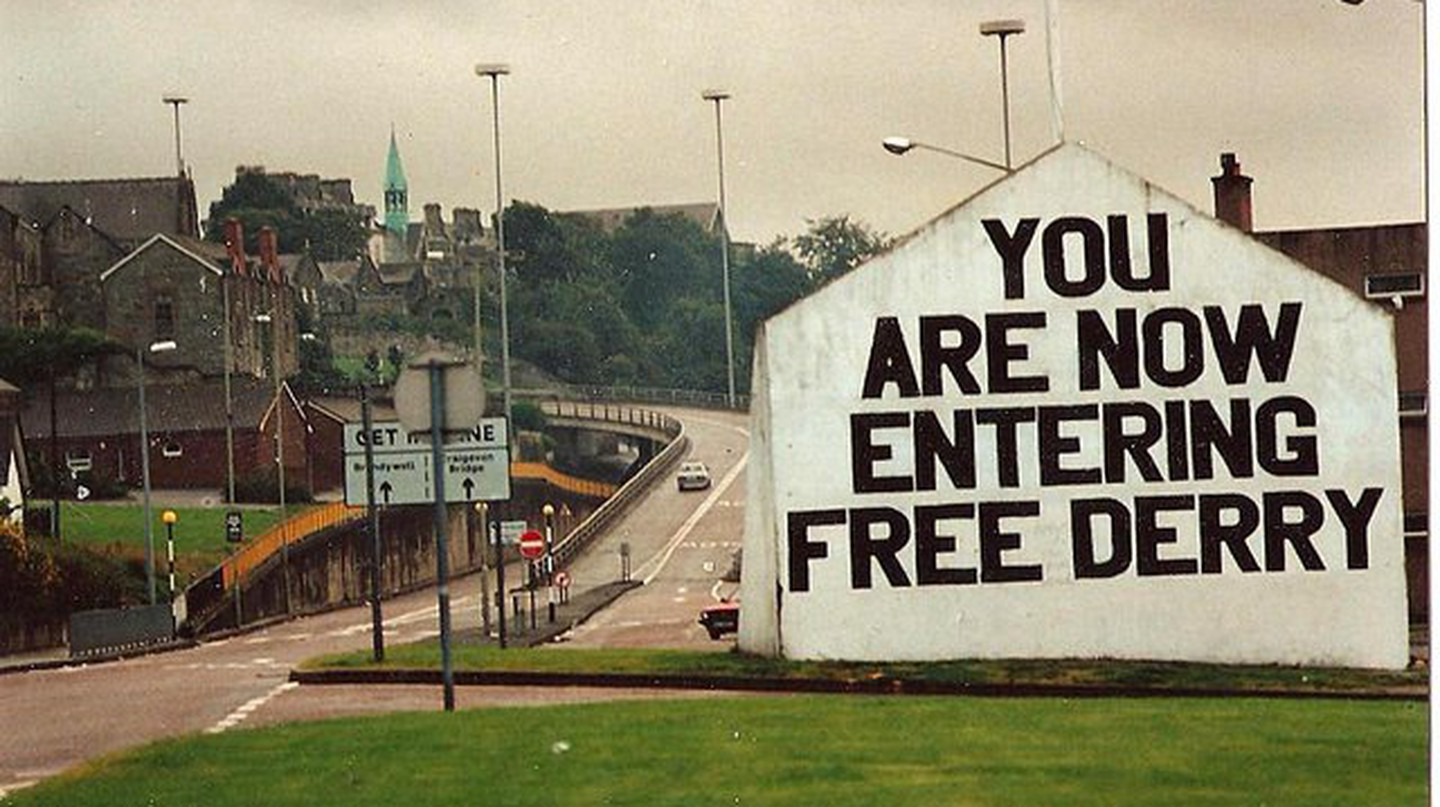Free Derry | © Louise Price/WikiCommons