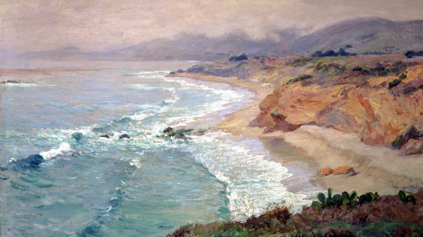 Lifting Fog by Guy Rose, The Irvine Museum   © Irvine Museum/WikiCommons