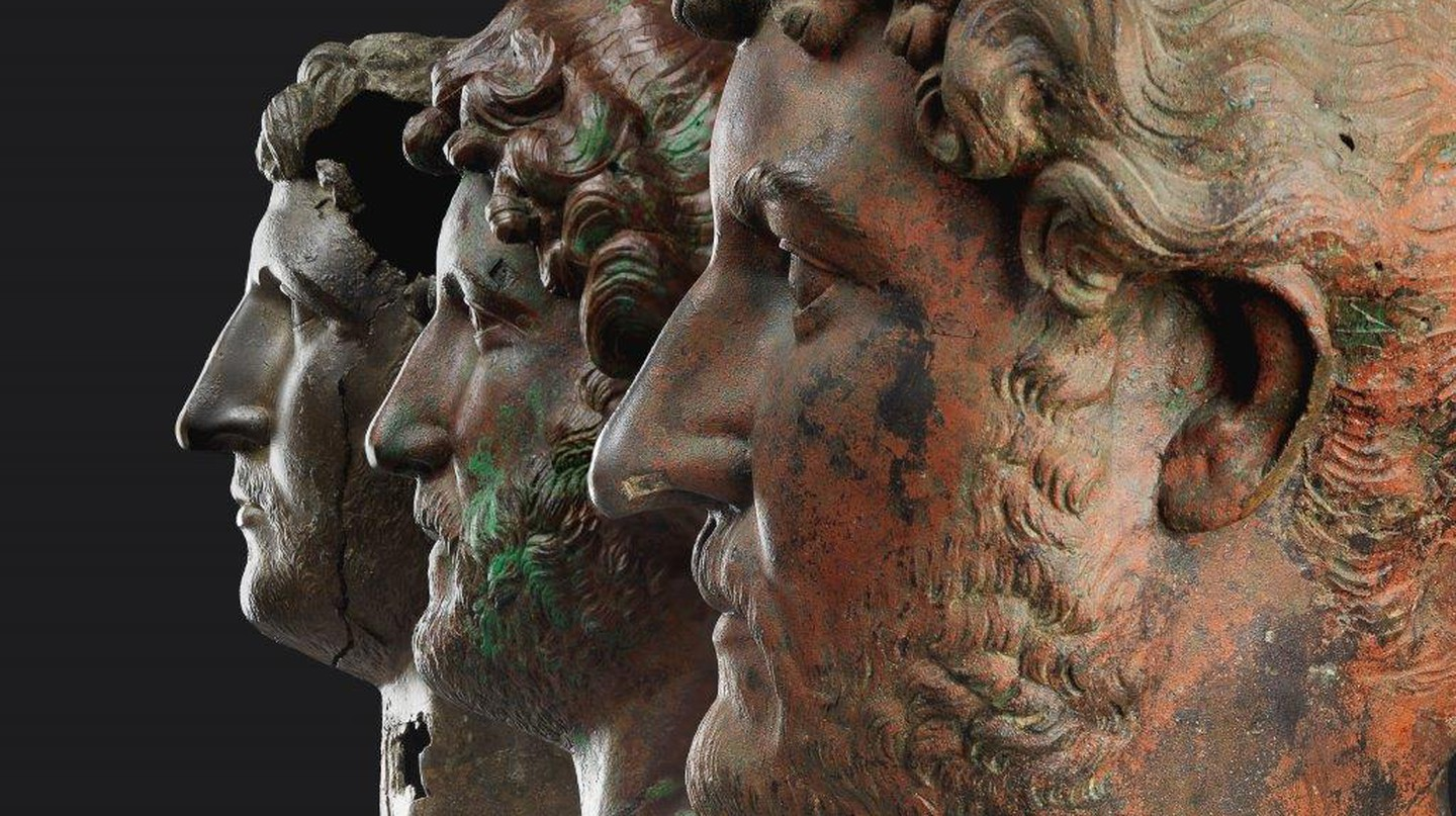 The Three Heads of Hadrian | © Elie Posner/Israel Museum