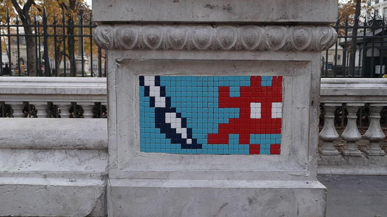 Invader, Square Émile-Chautemps|© WikiCommons