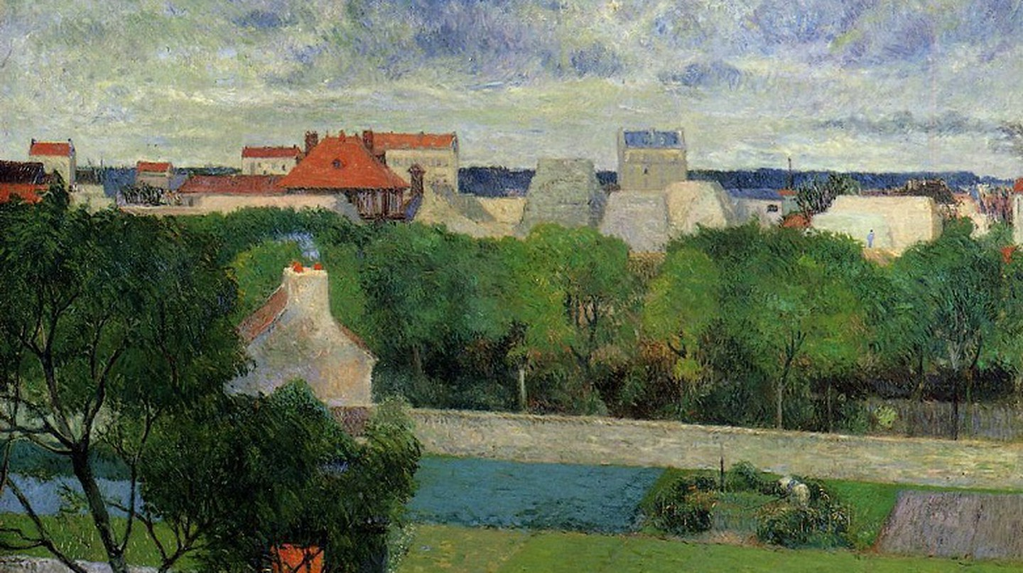 The Market Gardens of Vaugirard, Paul Gauguin | © Art Gallery ErgsArt by ErgSap/Flickr