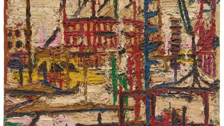 Mornington Crescent, Frank Auerbach | Courtesy of Marlborough Fine Art