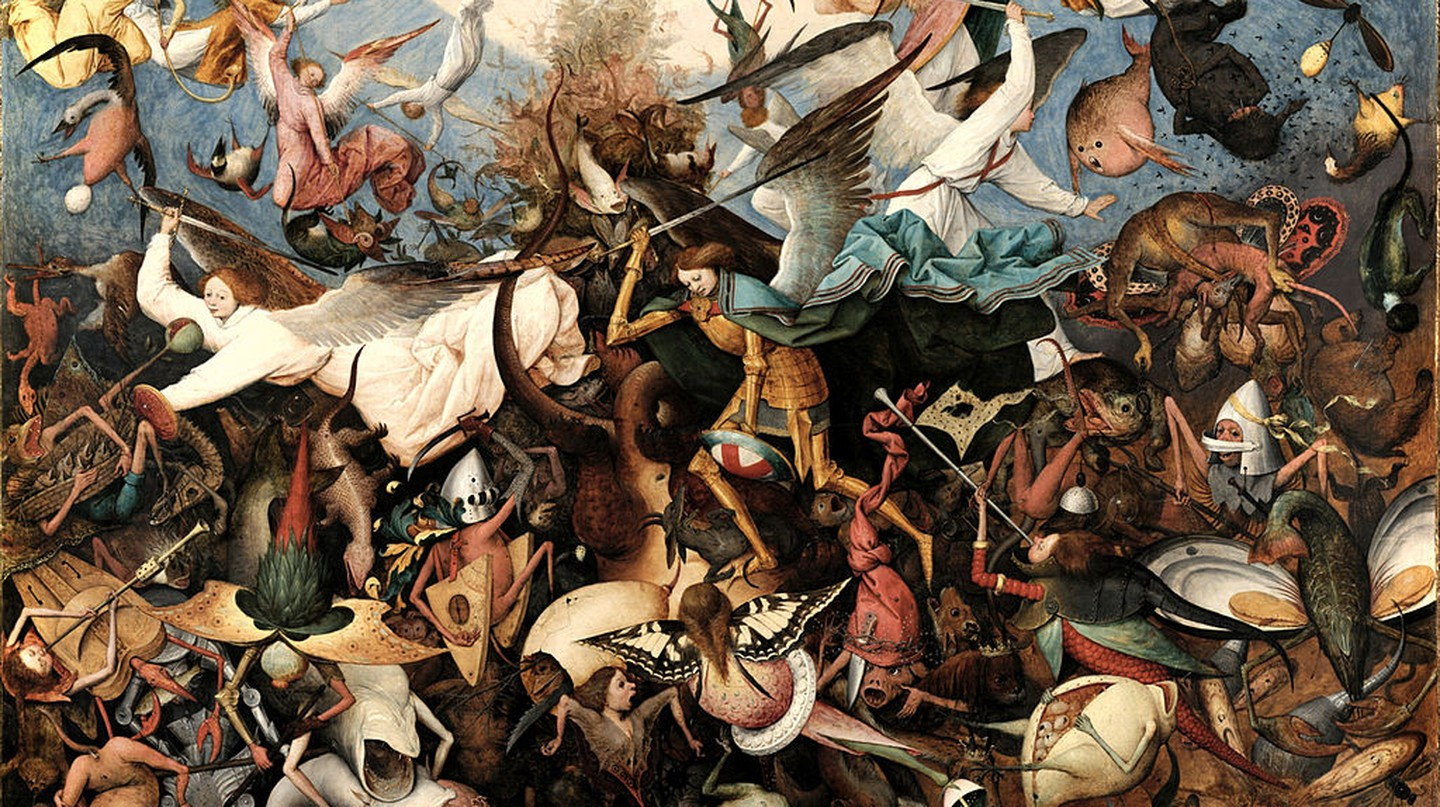 The Fall of the Rebel Angels by Pieter Bruegel | © Royal Museums of Fine Arts of Belgium/WikiCommons