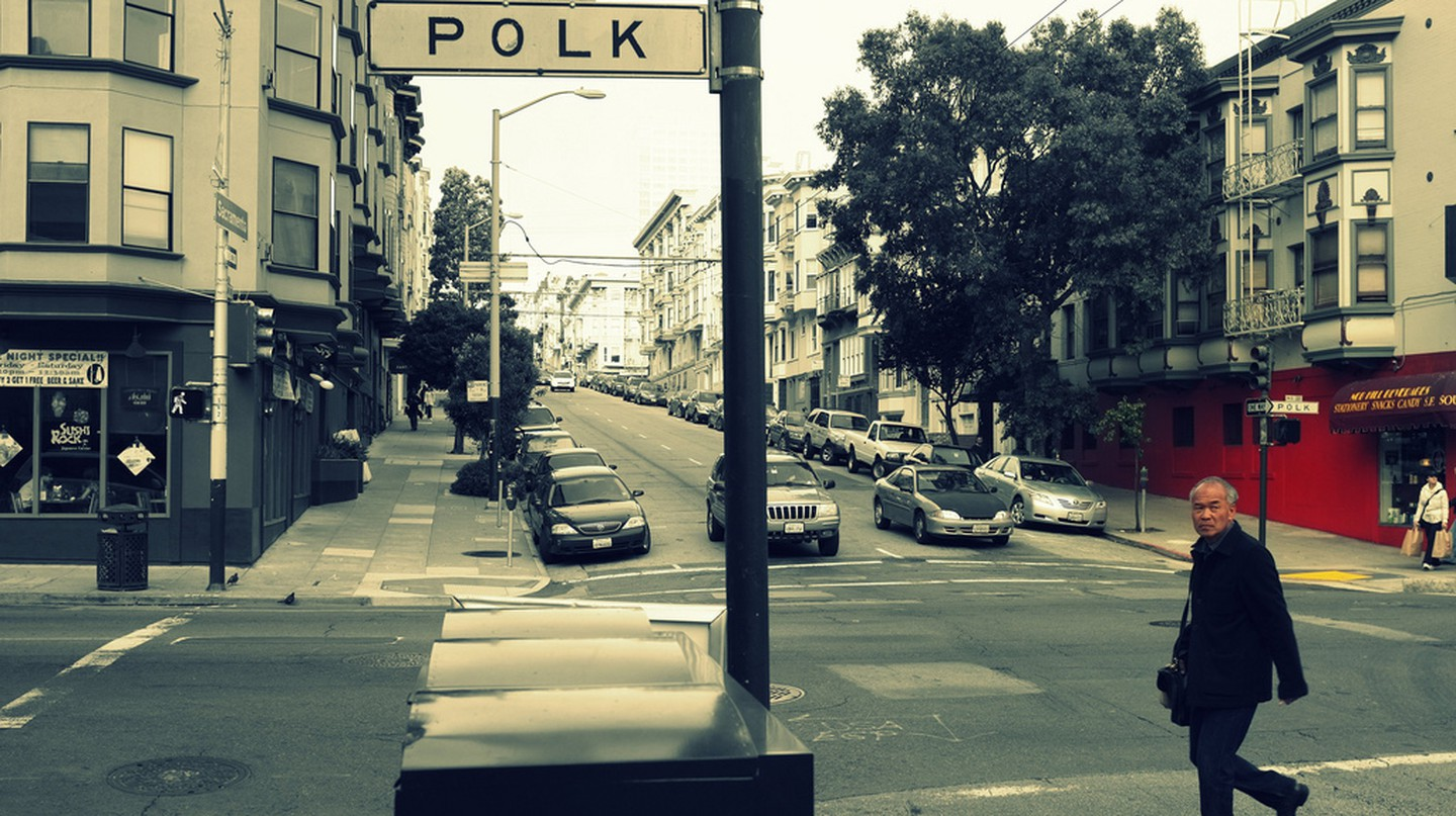 Polk St, San Francisco | © Roshan Vyas/Flickr