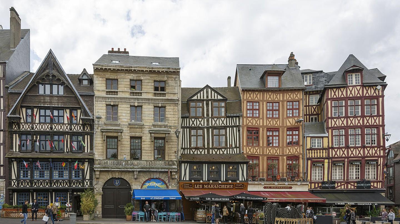 Rouen, France   © CEphoto, Uwe Aranas/CC-BY-SA-3.0/WikiCommons