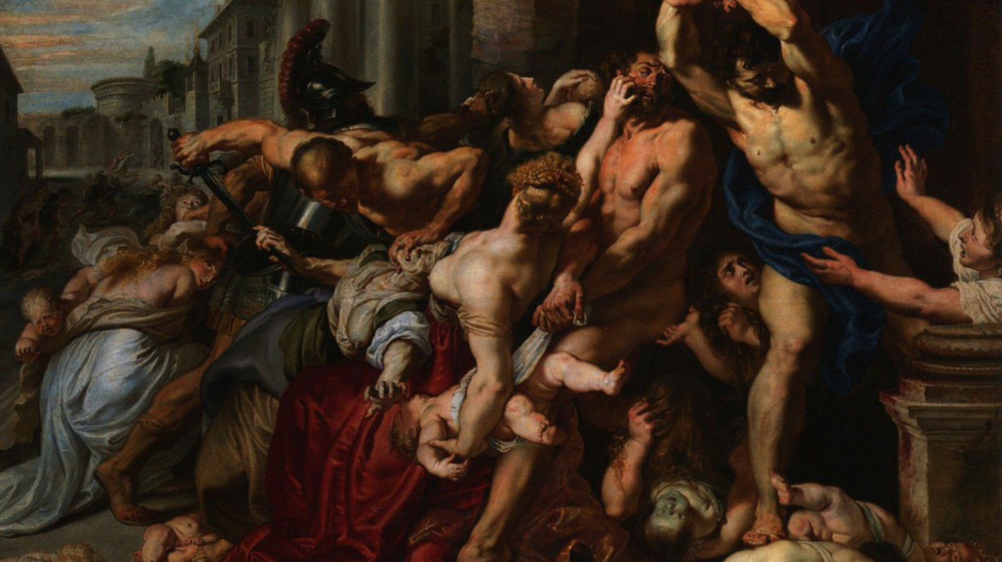 Peter Paul Rubens, The Massacre of the Innocents, 142 x 182 cm, Art Gallery of Ontario, c. 1611-1612 | © InverseHypercube/WikiCommons