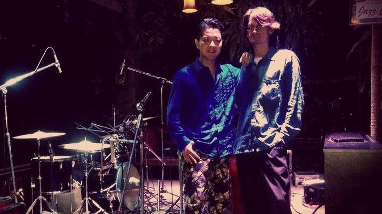 Yuichiro Tukado with Aman Mahajan (Right).