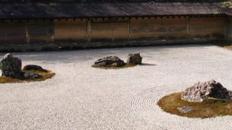 Stone and Sand Garden at Ryoanji | © Stephanie D'Alu/WikiCommons