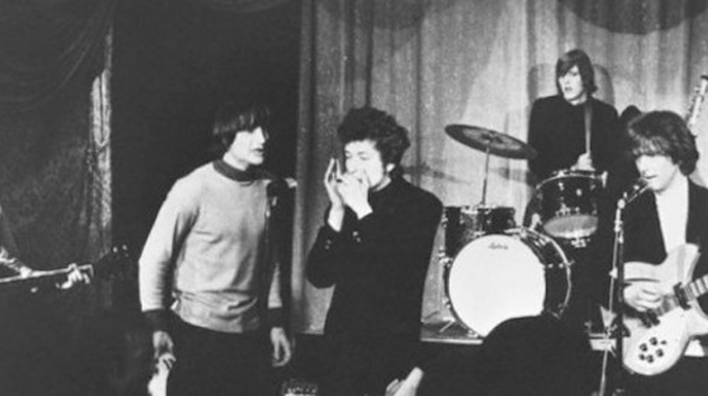 Bob Dylan and The Byrds   © The World Famous Comedy Store/Flickr
