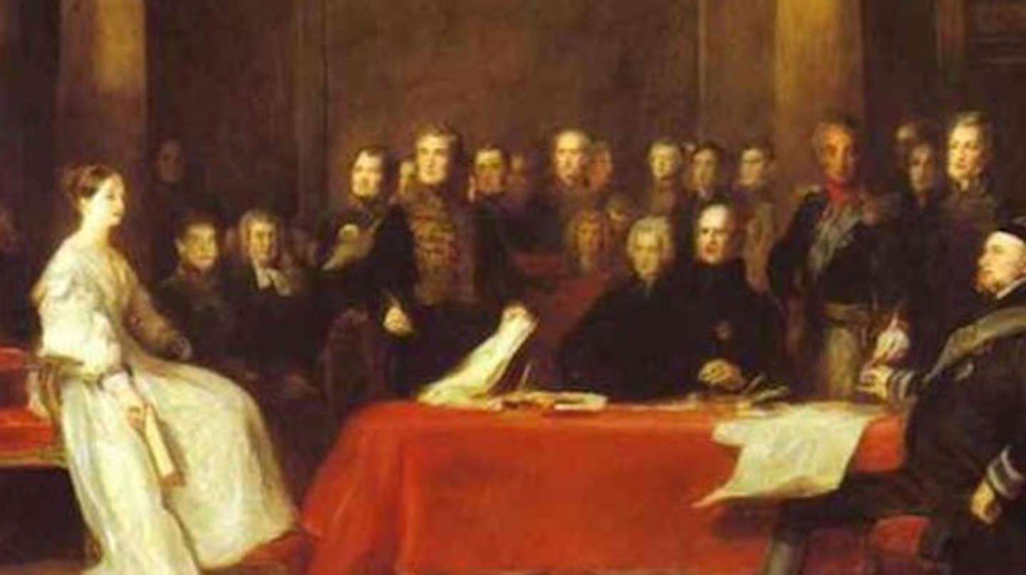 Queen Victoria convened her first Privy Council on the day of her accession in 1837 | © Shizhao /WikiCommons