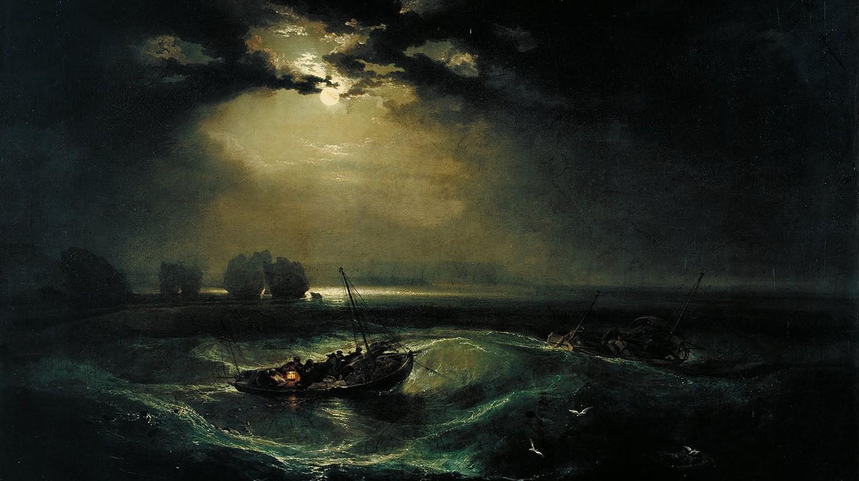Fishermen At Sea   © JMW Turner/WikiCommons