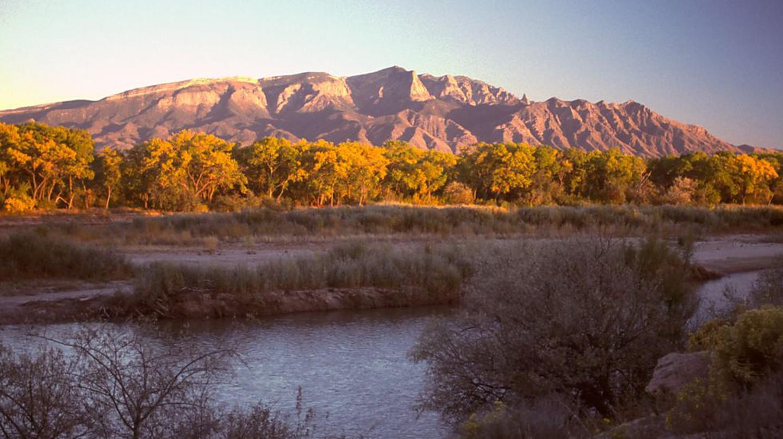 The Sandia Mountains from Rio Rancho | © G Thomas/WikiCommons