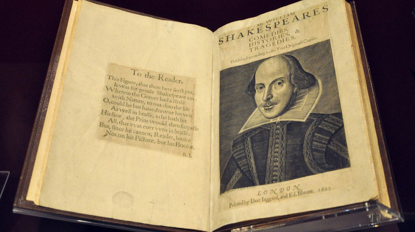 The First Folio | © Andreas Praefcke/WikiCommons