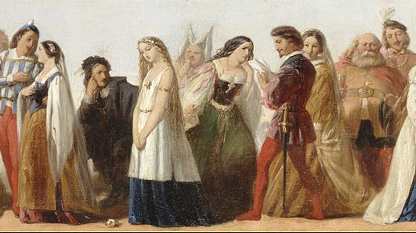 Procession of Characters from Shakespeare's Plays | © Yale Center for British Art/WikiCommons
