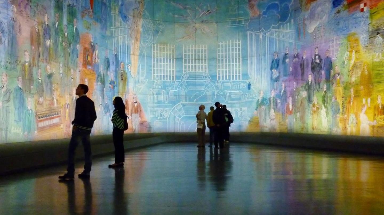 La Fée Électricité by Raoul Dufy at the Musée d'Art Moderne|© Mark B. Schlemmer/Flickr