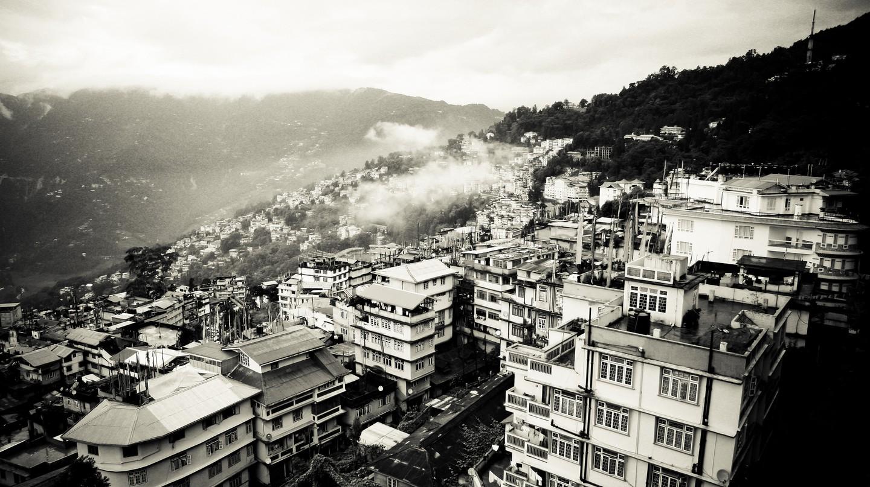 Aerial View Of Gangtok | © Ramakrishna Reddy Y/Flickr