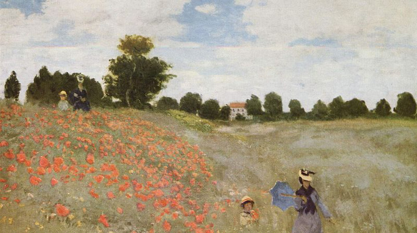 Poppies (1873) | © Bot / Wikicommons