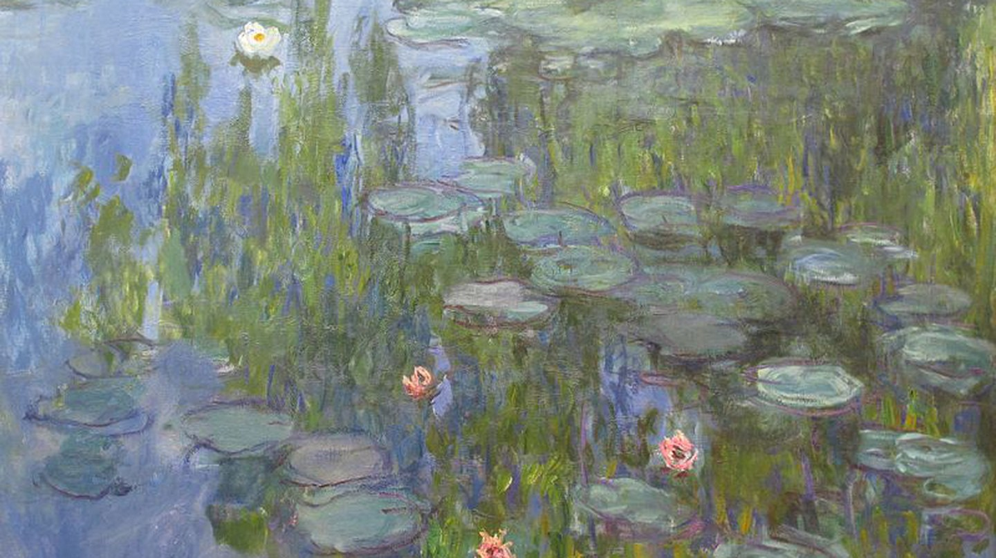 Water Lilies by Claude Monet, via Wikimedia Commons