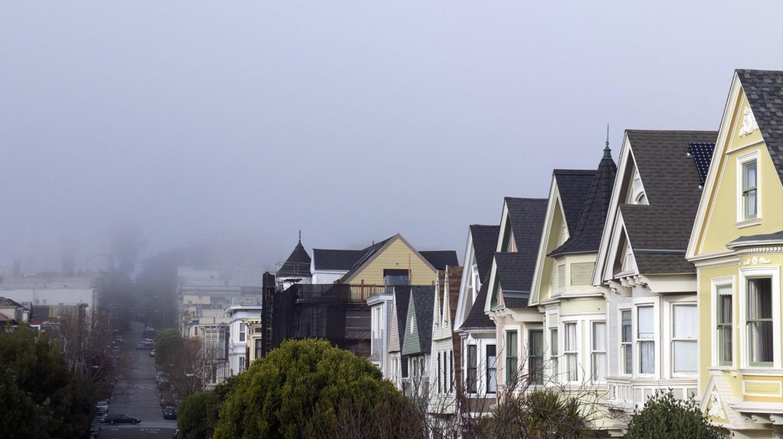 Fog over Duboce Triangle © David Lytle/Flickr