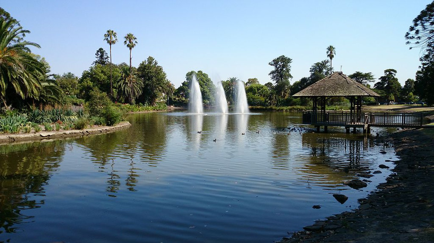 Lake at Queens Park at Moonee Ponds | © Bidgee/WikiCommons