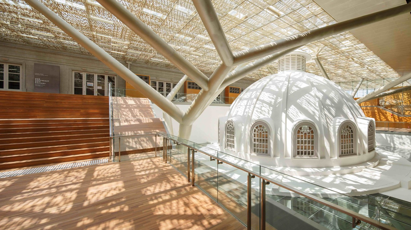 National Gallery Singapore Terrace   Courtesy of The National Gallery Singapore