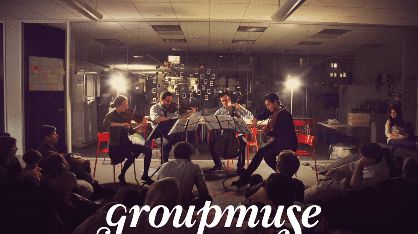Groupmuse at Work © Courtesy of Groupmuse