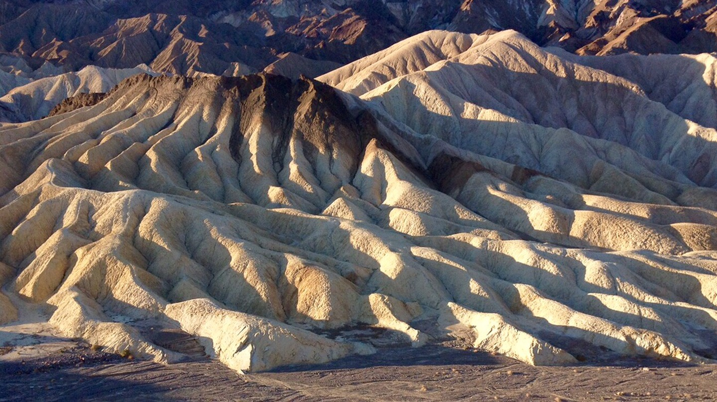 Badlands at Zabriskie Point, ©Gigi Chung
